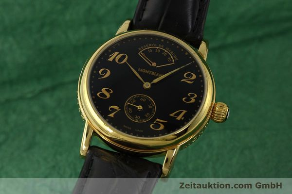Used luxury watch Montblanc Meisterstück gold-plated manual winding Kal. 4810901 ETA 7001 Ref. 7003  | 142161 04