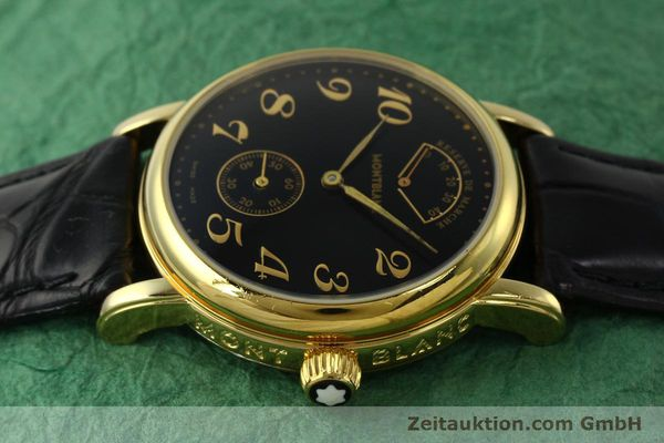 Used luxury watch Montblanc Meisterstück gold-plated manual winding Kal. 4810901 ETA 7001 Ref. 7003  | 142161 05
