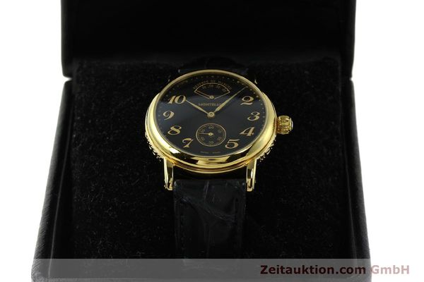 Used luxury watch Montblanc Meisterstück gold-plated manual winding Kal. 4810901 ETA 7001 Ref. 7003  | 142161 07