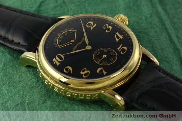 Used luxury watch Montblanc Meisterstück gold-plated manual winding Kal. 4810901 ETA 7001 Ref. 7003  | 142161 12