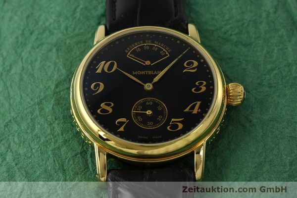 Used luxury watch Montblanc Meisterstück gold-plated manual winding Kal. 4810901 ETA 7001 Ref. 7003  | 142161 13