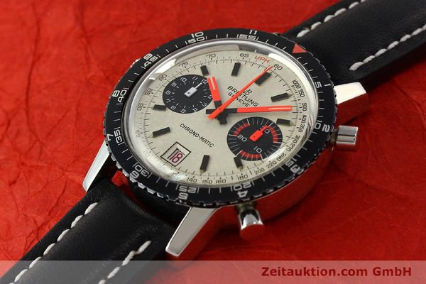 Used luxury watch Breitling Chrono-Matic chronograph steel automatic Kal. 112 Ref. 2110  | 142162 01