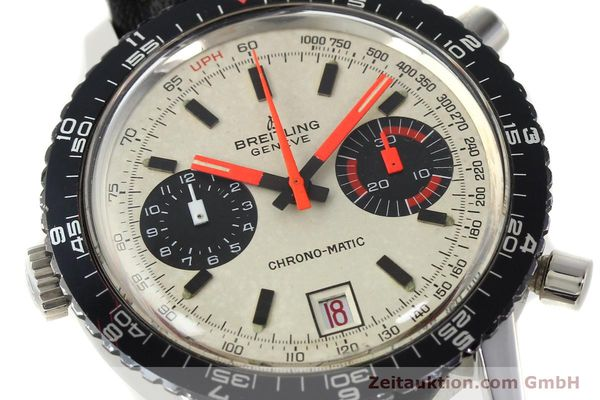 gebrauchte Luxusuhr Breitling Chrono-Matic Chronograph Stahl Automatik Kal. 112 Ref. 2110  | 142162 02
