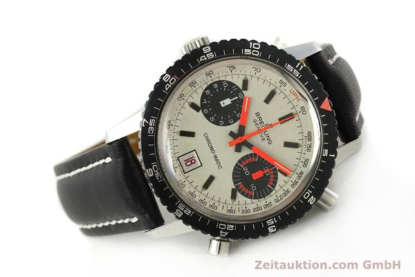 gebrauchte Luxusuhr Breitling Chrono-Matic Chronograph Stahl Automatik Kal. 112 Ref. 2110  | 142162 03