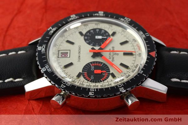 gebrauchte Luxusuhr Breitling Chrono-Matic Chronograph Stahl Automatik Kal. 112 Ref. 2110  | 142162 05