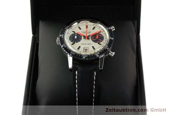 gebrauchte Luxusuhr Breitling Chrono-Matic Chronograph Stahl Automatik Kal. 112 Ref. 2110  | 142162 07