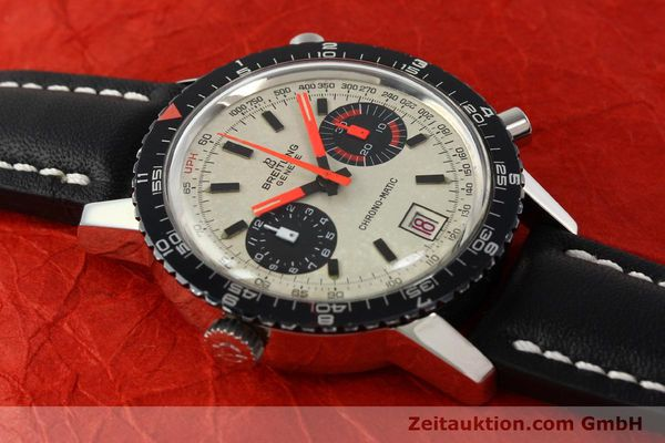 gebrauchte Luxusuhr Breitling Chrono-Matic Chronograph Stahl Automatik Kal. 112 Ref. 2110  | 142162 13