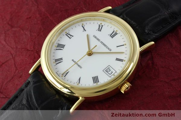 Used luxury watch Girard Perregaux * 18 ct gold automatic Kal. GP2200 Ref. 4799.51  | 142164 01