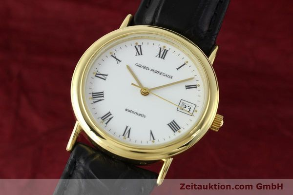 Used luxury watch Girard Perregaux * 18 ct gold automatic Kal. GP2200 Ref. 4799.51  | 142164 04