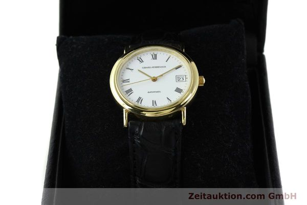 Used luxury watch Girard Perregaux * 18 ct gold automatic Kal. GP2200 Ref. 4799.51  | 142164 07