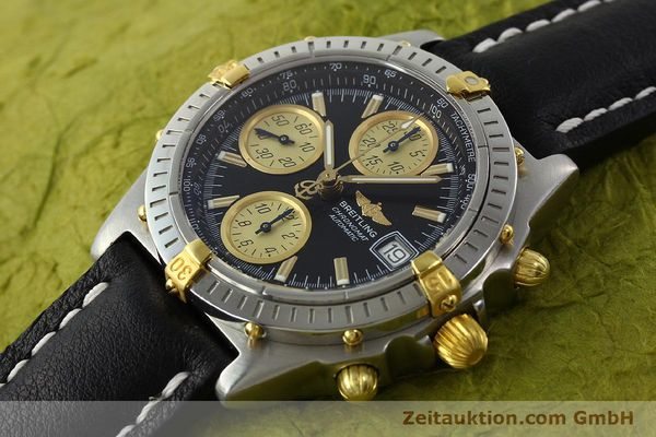 Used luxury watch Breitling Chronomat chronograph steel / gold automatic Kal. B13 ETA 7750 Ref. A13350  | 142166 01