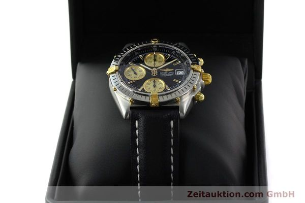 Used luxury watch Breitling Chronomat chronograph steel / gold automatic Kal. B13 ETA 7750 Ref. A13350  | 142166 07