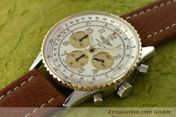 Used luxury watch Breitling Navitimer chronograph steel / gold automatic Kal. B30 ETA 2892A2 Ref. D30021  | 142167 01