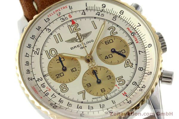 Used luxury watch Breitling Navitimer chronograph steel / gold automatic Kal. B30 ETA 2892A2 Ref. D30021  | 142167 02