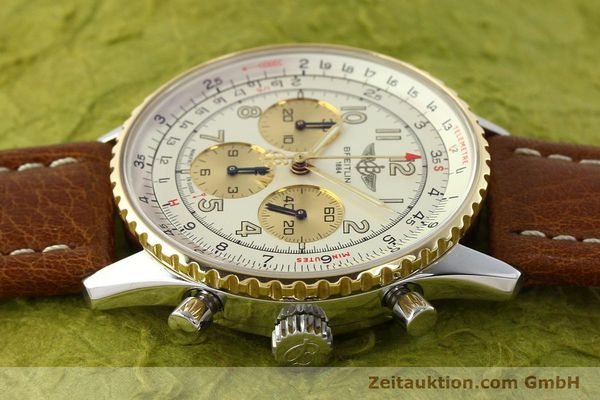 Used luxury watch Breitling Navitimer chronograph steel / gold automatic Kal. B30 ETA 2892A2 Ref. D30021  | 142167 05