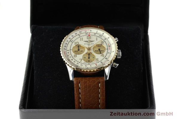 Used luxury watch Breitling Navitimer chronograph steel / gold automatic Kal. B30 ETA 2892A2 Ref. D30021  | 142167 07