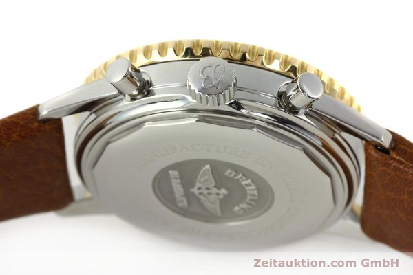 Used luxury watch Breitling Navitimer chronograph steel / gold automatic Kal. B30 ETA 2892A2 Ref. D30021  | 142167 08