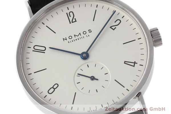 Used luxury watch Nomos Tangente steel manual winding Kal. ETA 7001  | 142168 02