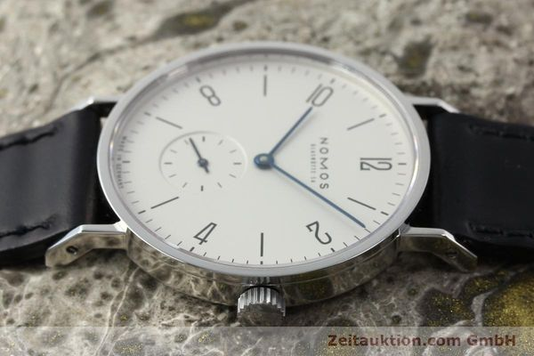 Used luxury watch Nomos Tangente steel manual winding Kal. ETA 7001  | 142168 05
