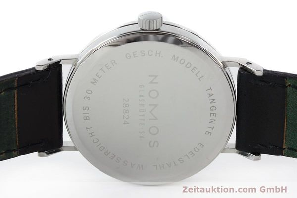 Used luxury watch Nomos Tangente steel manual winding Kal. ETA 7001  | 142168 09