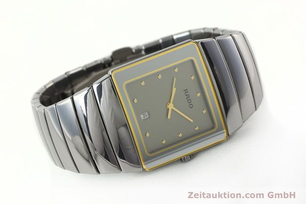 Used luxury watch Rado Sintra ceramic quartz Kal. ETA 256111 Ref. 152.0332.3  | 142173 03