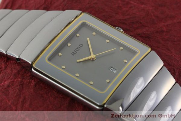 Used luxury watch Rado Sintra ceramic quartz Kal. ETA 256111 Ref. 152.0332.3  | 142173 12