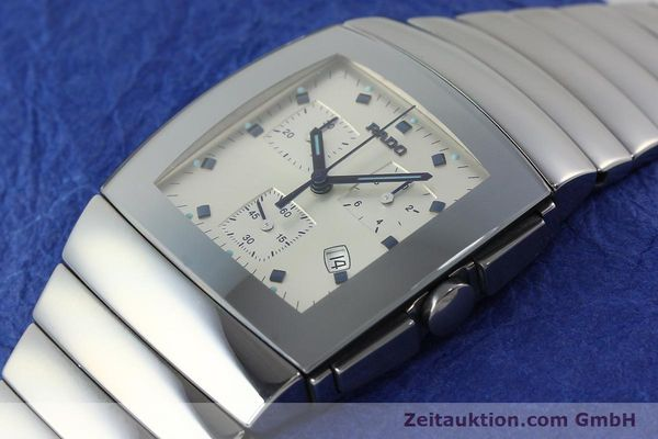 Used luxury watch Rado Sintra chronograph ceramic quartz Kal. ETA 251.471 Ref. 538.0434.3  | 142175 01