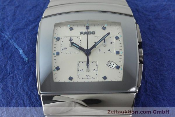 Used luxury watch Rado Sintra chronograph ceramic quartz Kal. ETA 251.471 Ref. 538.0434.3  | 142175 05