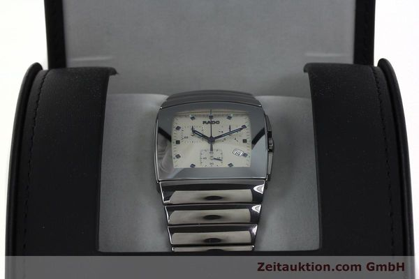 Used luxury watch Rado Sintra chronograph ceramic quartz Kal. ETA 251.471 Ref. 538.0434.3  | 142175 07