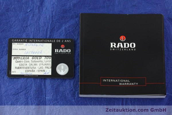 Used luxury watch Rado Sintra chronograph ceramic quartz Kal. ETA 251.471 Ref. 538.0434.3  | 142175 08