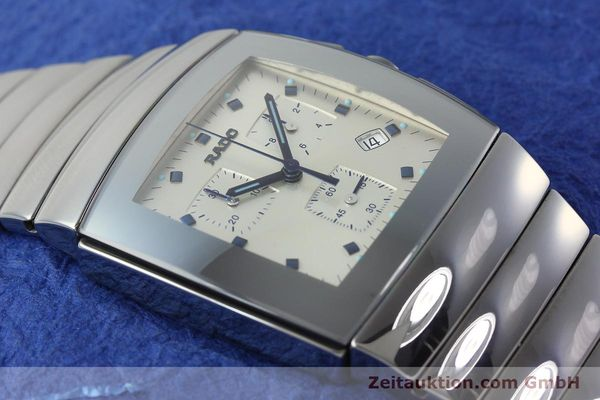 Used luxury watch Rado Sintra chronograph ceramic quartz Kal. ETA 251.471 Ref. 538.0434.3  | 142175 14