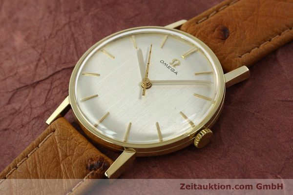 Used luxury watch Omega * 14 ct yellow gold manual winding Kal. 600 Ref. 131004SC-62  | 142177 01