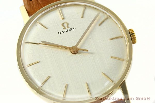 Used luxury watch Omega * 14 ct yellow gold manual winding Kal. 600 Ref. 131004SC-62  | 142177 02