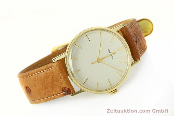 Used luxury watch Omega * 14 ct yellow gold manual winding Kal. 600 Ref. 131004SC-62  | 142177 03