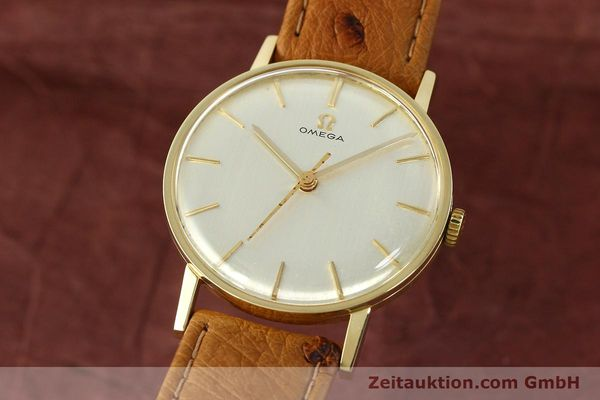 Used luxury watch Omega * 14 ct yellow gold manual winding Kal. 600 Ref. 131004SC-62  | 142177 04