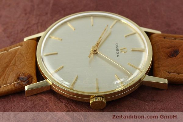 Used luxury watch Omega * 14 ct yellow gold manual winding Kal. 600 Ref. 131004SC-62  | 142177 05