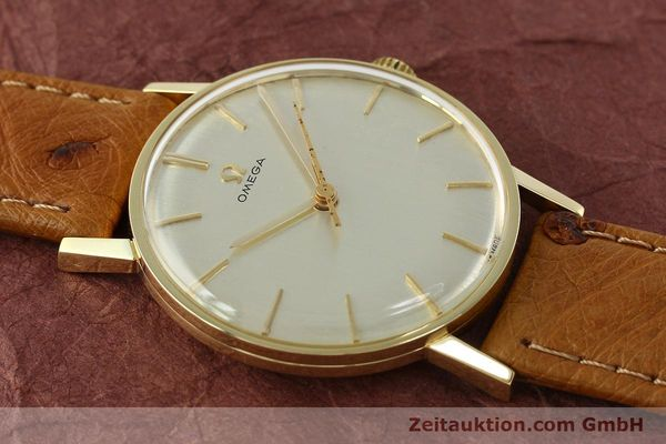 Used luxury watch Omega * 14 ct yellow gold manual winding Kal. 600 Ref. 131004SC-62  | 142177 13