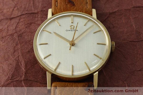 Used luxury watch Omega * 14 ct yellow gold manual winding Kal. 600 Ref. 131004SC-62  | 142177 14
