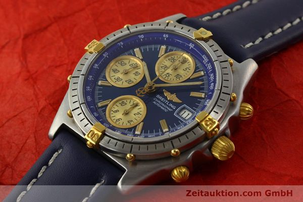 Used luxury watch Breitling Chronomat chronograph steel / gold automatic Kal. VAL 7750 Ref. 81950  | 142184 01