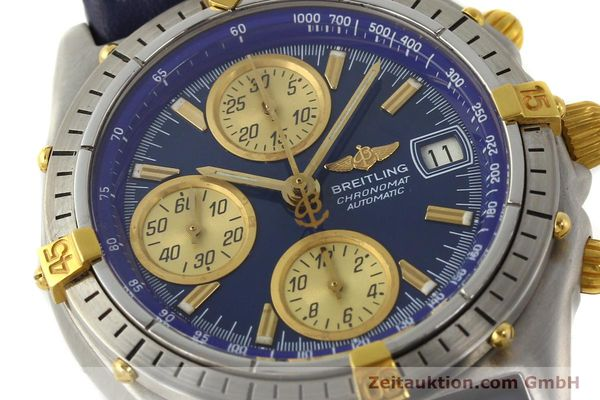 Used luxury watch Breitling Chronomat chronograph steel / gold automatic Kal. VAL 7750 Ref. 81950  | 142184 02