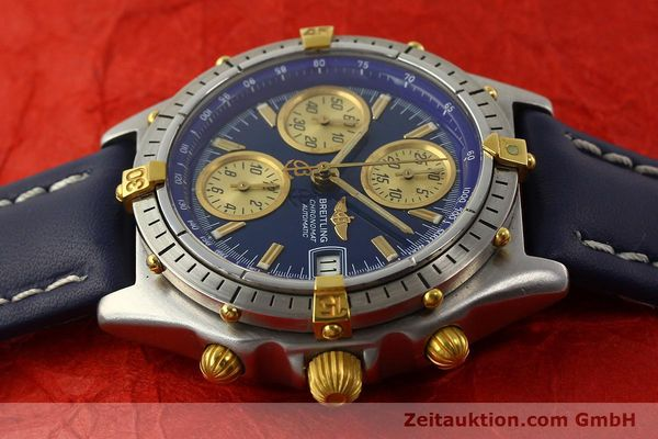 Used luxury watch Breitling Chronomat chronograph steel / gold automatic Kal. VAL 7750 Ref. 81950  | 142184 05