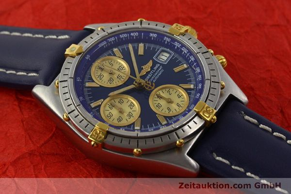 Used luxury watch Breitling Chronomat chronograph steel / gold automatic Kal. VAL 7750 Ref. 81950  | 142184 13