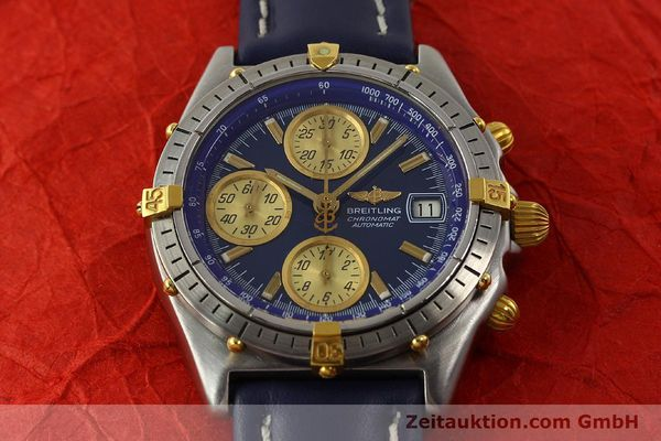 Used luxury watch Breitling Chronomat chronograph steel / gold automatic Kal. VAL 7750 Ref. 81950  | 142184 14