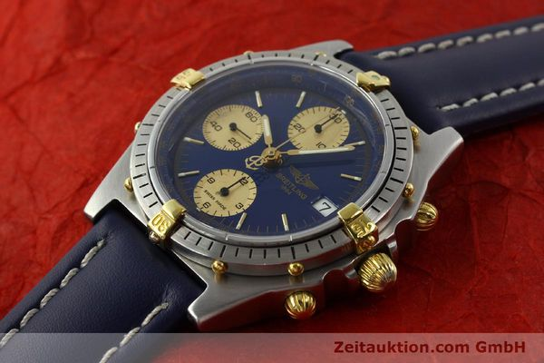 Used luxury watch Breitling Chronomat chronograph steel / gold automatic Kal. VAL 7750 Ref. 81950B13047  | 142185 01