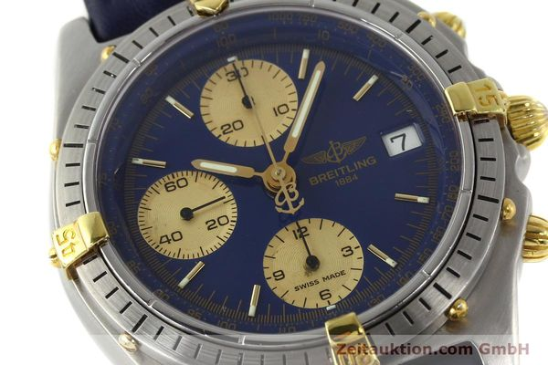 Used luxury watch Breitling Chronomat chronograph steel / gold automatic Kal. VAL 7750 Ref. 81950B13047  | 142185 02