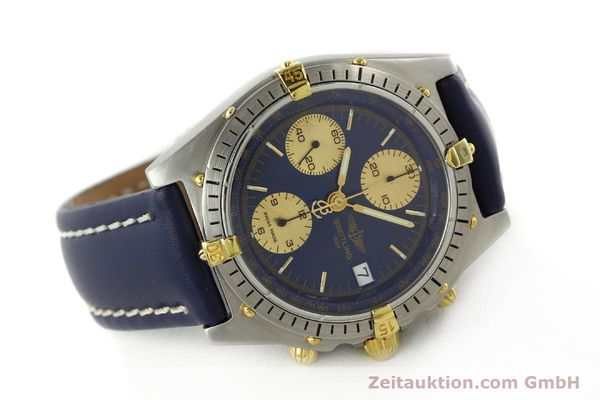 Used luxury watch Breitling Chronomat chronograph steel / gold automatic Kal. VAL 7750 Ref. 81950B13047  | 142185 03