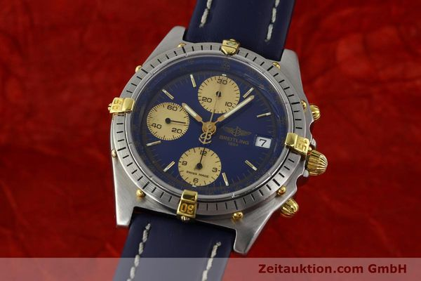 Used luxury watch Breitling Chronomat chronograph steel / gold automatic Kal. VAL 7750 Ref. 81950B13047  | 142185 04