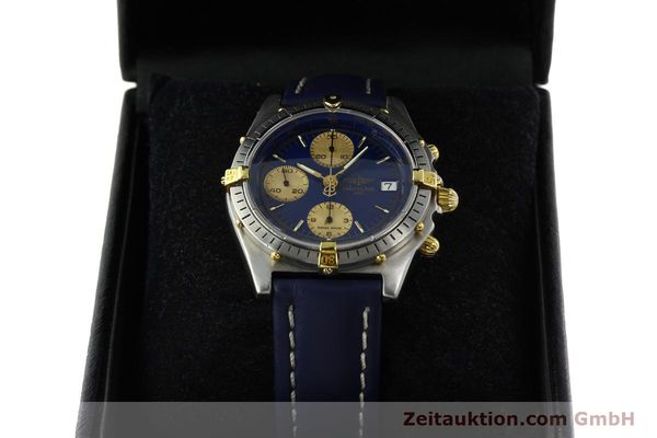Used luxury watch Breitling Chronomat chronograph steel / gold automatic Kal. VAL 7750 Ref. 81950B13047  | 142185 07