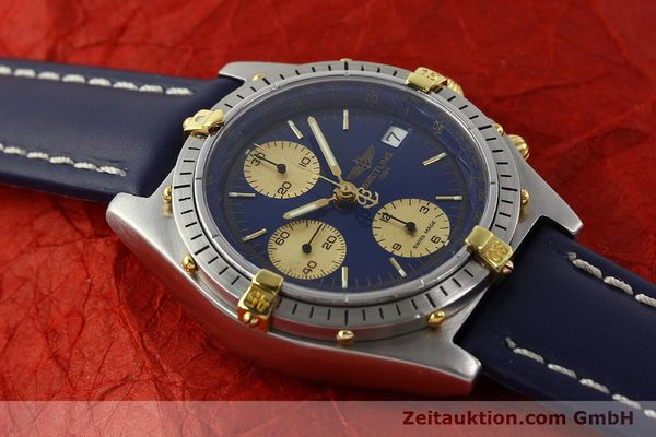 Used luxury watch Breitling Chronomat chronograph steel / gold automatic Kal. VAL 7750 Ref. 81950B13047  | 142185 12