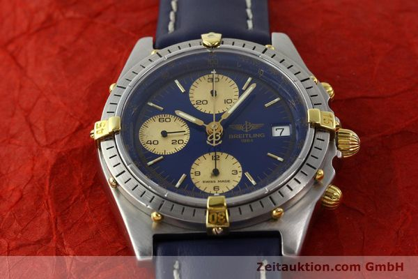 Used luxury watch Breitling Chronomat chronograph steel / gold automatic Kal. VAL 7750 Ref. 81950B13047  | 142185 13